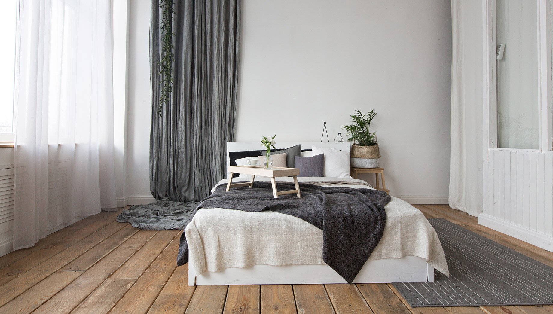 Bedroom with Natural Elements