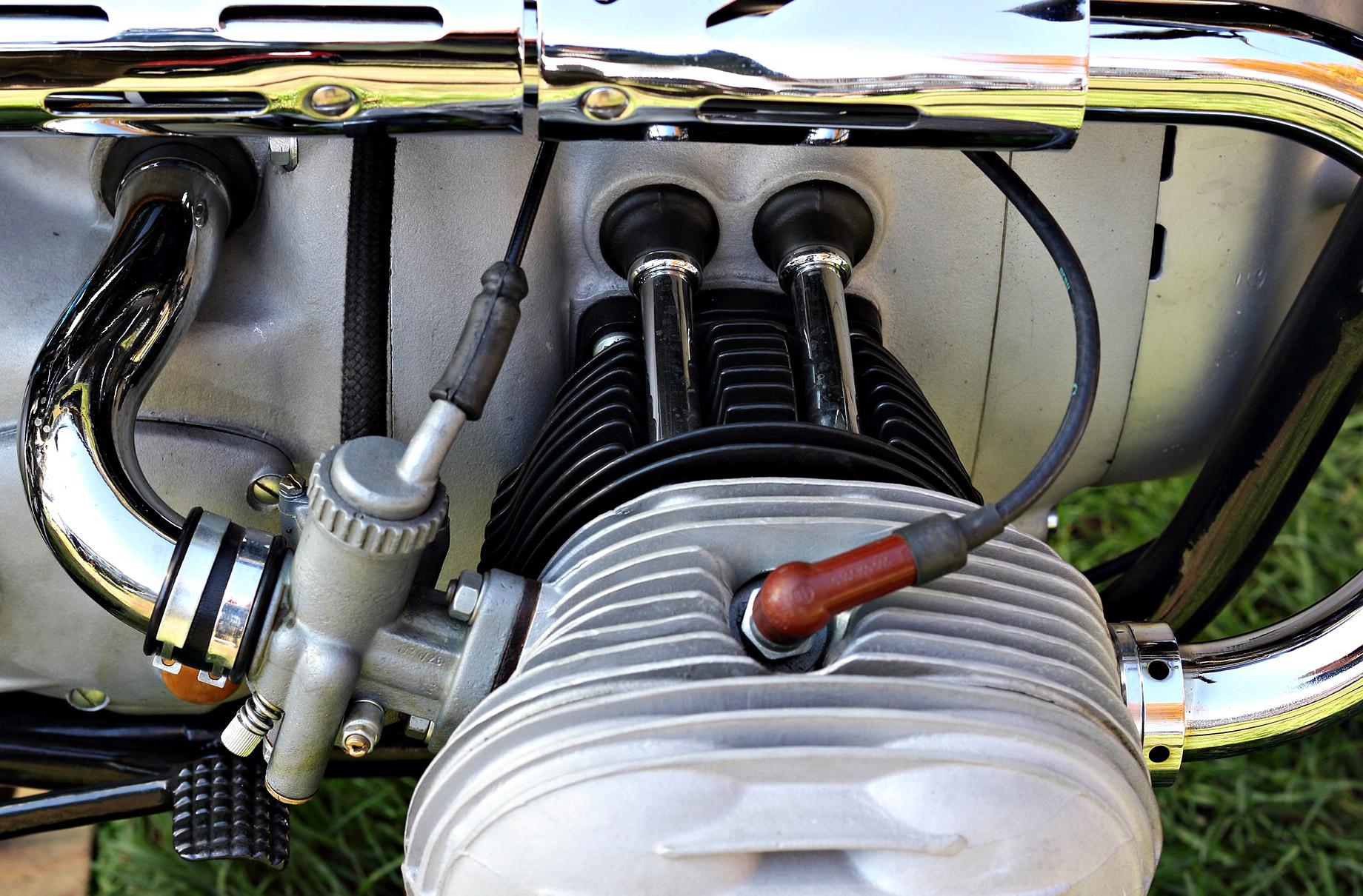 Luxury Showpiece Motorcycle Engine