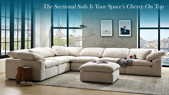 The Sectional Sofa Is Your Space's Cherry On Top