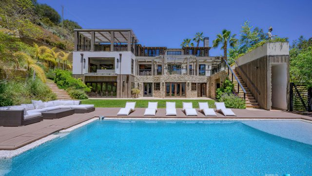 1105 Rivas Canyon Rd, Pacific Palisades, CA, USA - Luxury Real Estate - Spectacular Pool