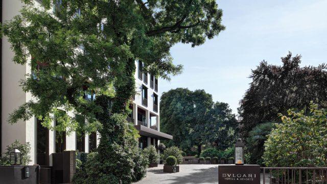 Bvlgari Luxury Hotel Milano - Milan, Italy - Hotel Entrance