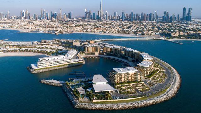 Bvlgari Luxury Resort Dubai - Jumeira Bay Island, Dubai, UAE - Resort Aerial View