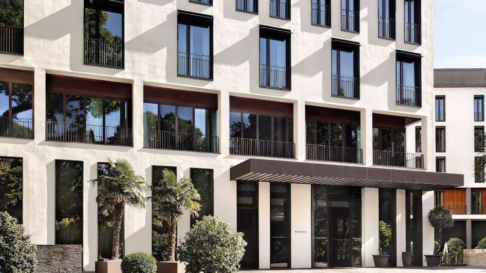 Bvlgari Luxury Hotel Milano - Milan, Italy - Front Entrance