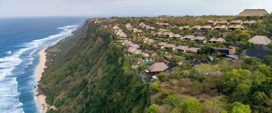 Bvlgari Luxury Resort Bali - Uluwatu, Bali, Indonesia - Resort Aerial View