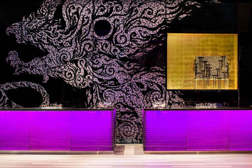 W Bangkok Luxury Hotel - Bangkok, Thailand - Welcome Desk