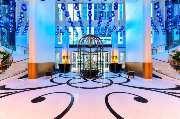 W Doha Luxury Hotel - Doha, Qatar - Lobby Front Entrance