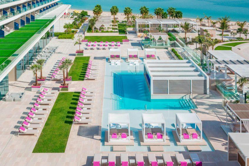 W Dubai The Palm Luxury Resort - Dubai, UAE - WET Pool Deck