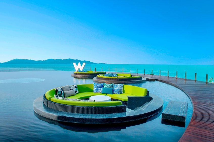 W Koh Samui Luxury Resort - Thailand - Welcome Reflection Pond