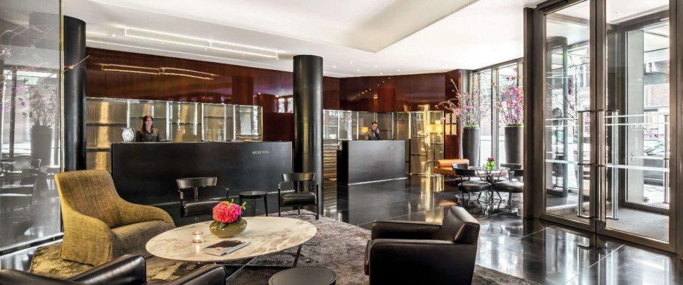 Bvlgari Luxury Hotel London - Knightsbridge, London, UK - Lobby