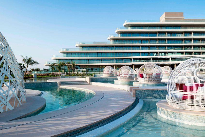 W Dubai The Palm Luxury Resort - Dubai, UAE - WET Pools