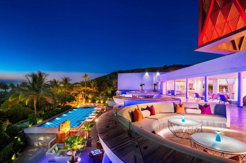 W Goa Vagator Beach Luxury Resort - Goa, India - WooBar Wet Pool
