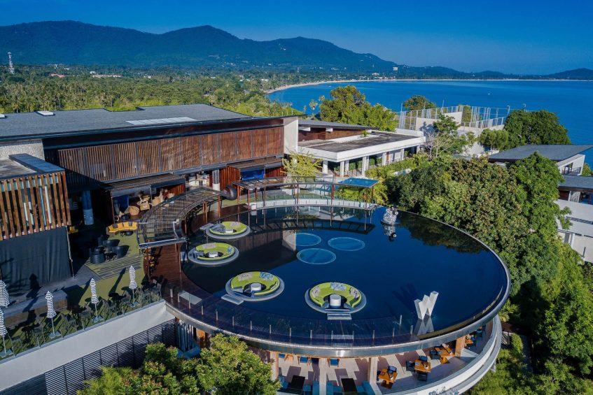 W Koh Samui Luxury Resort - Thailand - W Lounge Aerial View