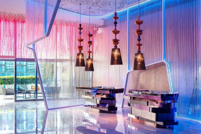 W Kuala Lumpur Luxury Hotel - Kuala Lumpur, Malaysia - Lobby Welcome Desk