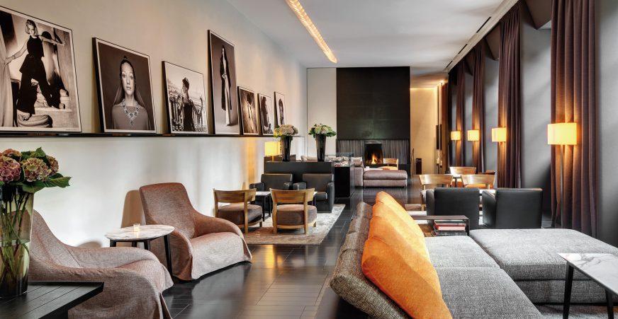 Bvlgari Luxury Hotel Milano - Milan, Italy - Lobby Lounge