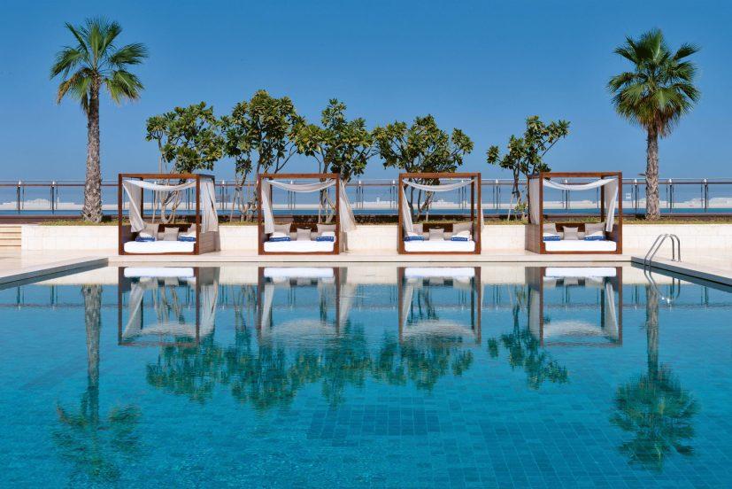 Bvlgari Luxury Resort Dubai - Jumeira Bay Island, Dubai, UAE - Bvlgari Yacht Club Poolside Cabanas