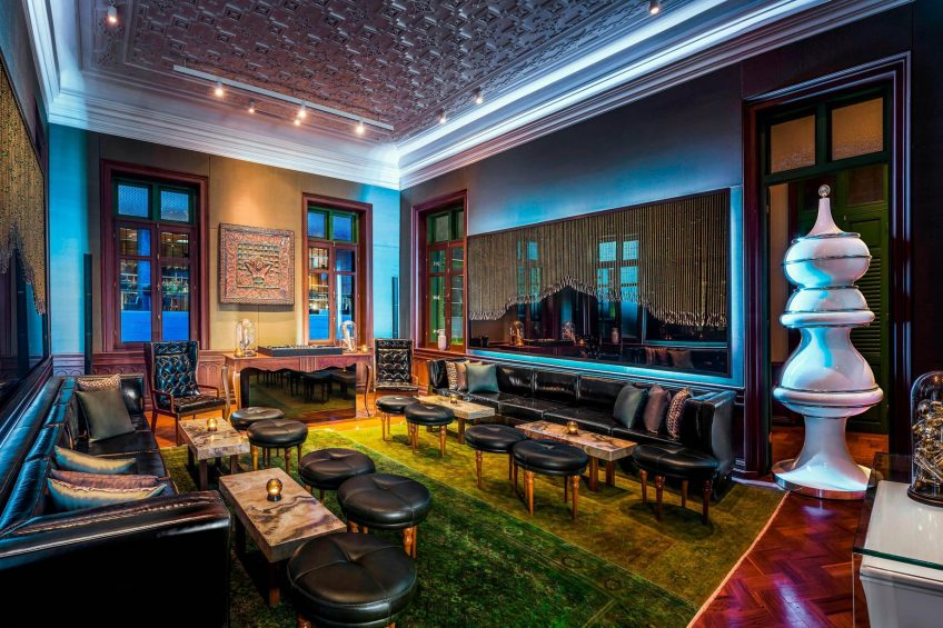 W Bangkok Luxury Hotel - Bangkok, Thailand - Emerald Room Upstairs