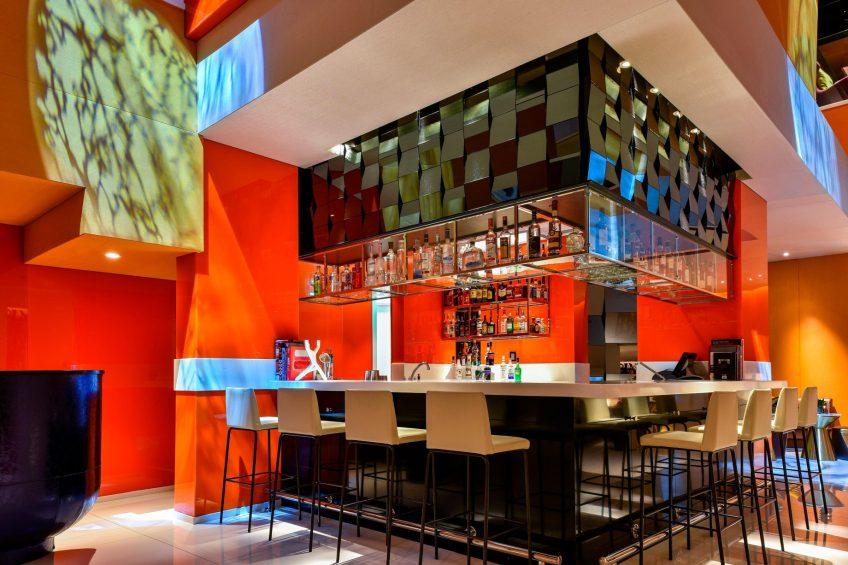 W Amman Luxury Hotel - Amman, Jordan - Lobby Lounge Bar