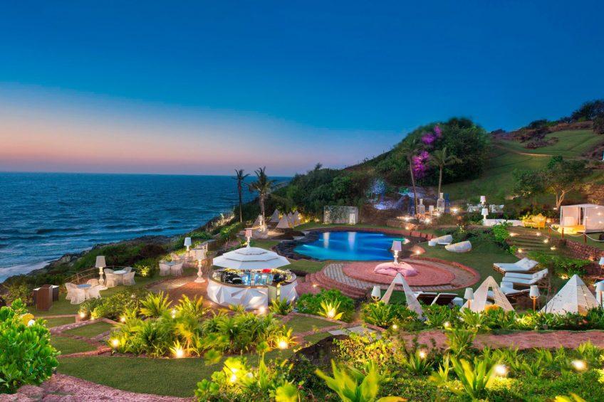 W Goa Vagator Beach Luxury Resort - Goa, India - ROCKPOOL Twilight