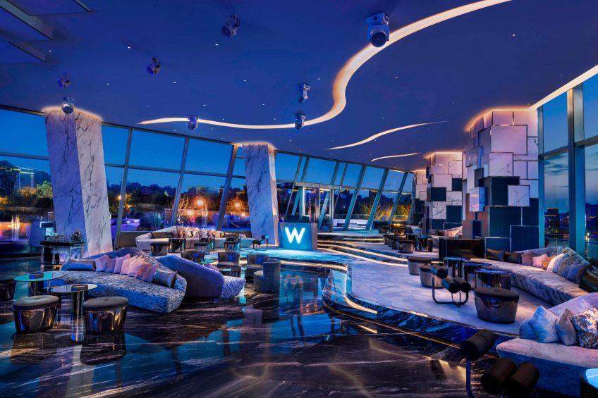 W Xi'an Luxury Hotel - Xi'an, Shaanxi Province, China - WOOBAR Night