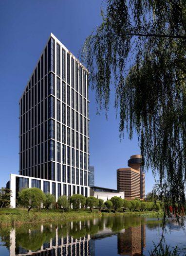Bvlgari Luxury Hotel Beijing - Beijing, China - Hotel Exterior River View