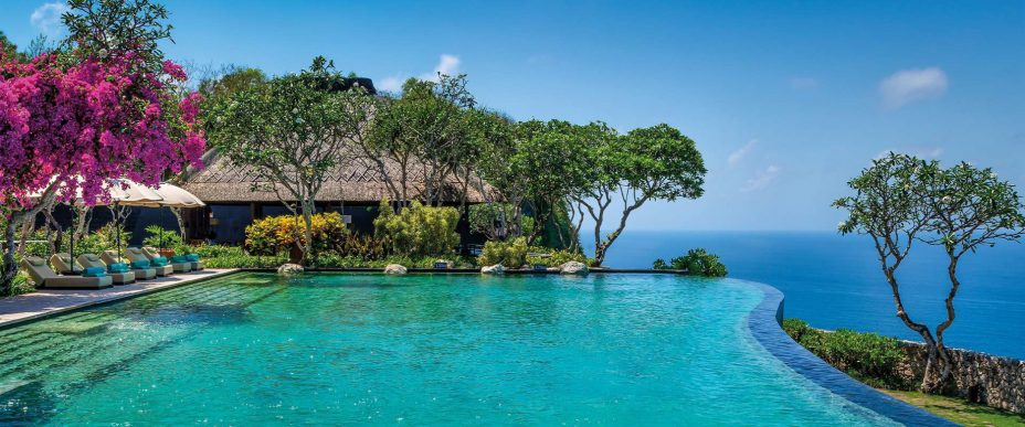 Bvlgari Luxury Resort Bali - Uluwatu, Bali, Indonesia - Infinity Pool Ocean View