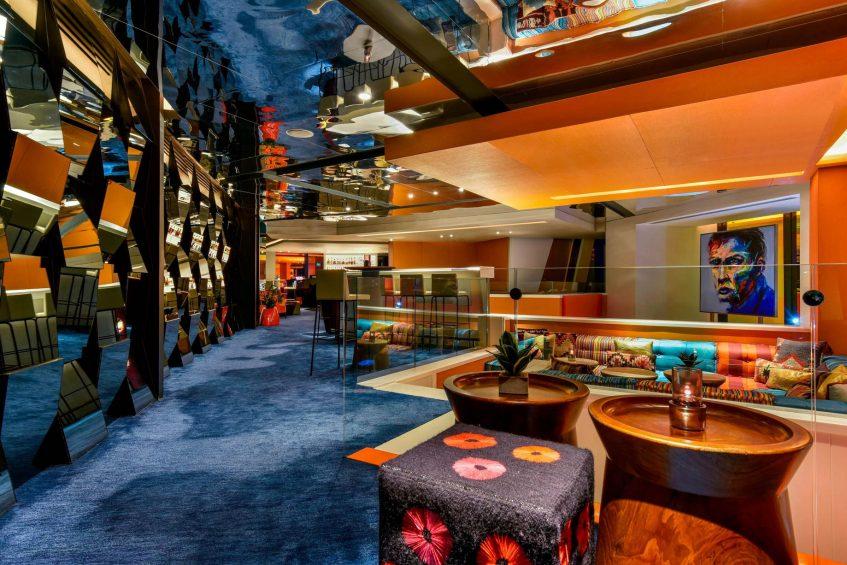 W Amman Luxury Hotel - Amman, Jordan - Lobby Lounge Area