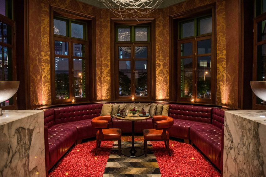 W Bangkok Luxury Hotel - Bangkok, Thailand - The House on Sathorn Special Setting of Secret Room