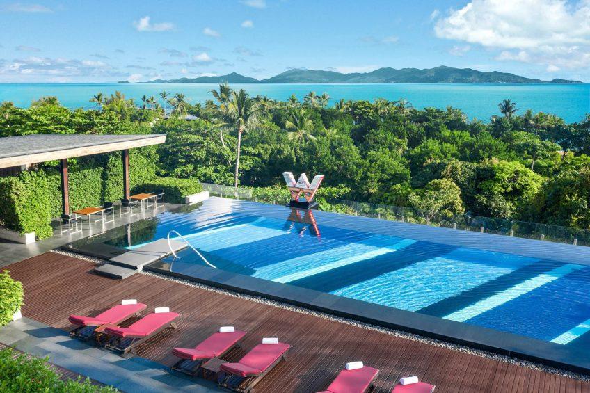 W Koh Samui Luxury Resort - Thailand - WET Infinity Pool Ocean View