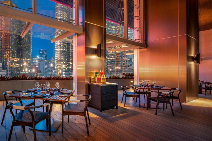 W Kuala Lumpur Luxury Hotel - Kuala Lumpur, Malaysia - Flock Tables