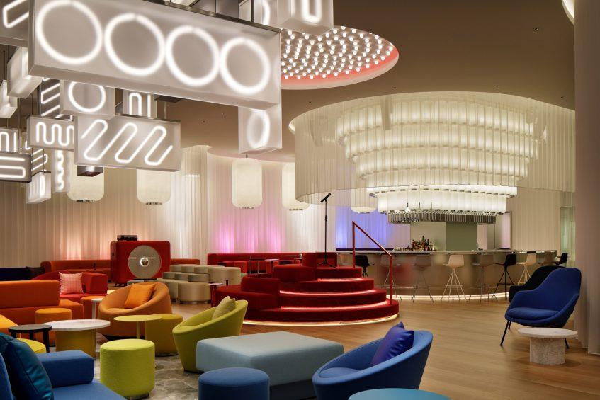 W Osaka Luxury Hotel - Osaka, Japan - LIVING ROOM Lounge