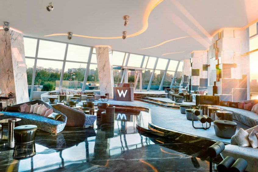 W Xi'an Luxury Hotel - Xi'an, Shaanxi Province, China - WOOBAR Lounge