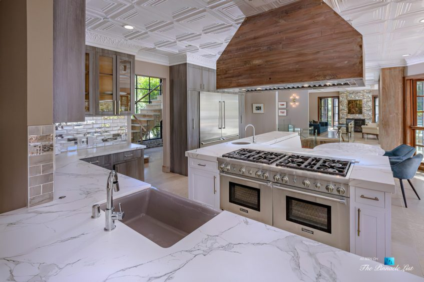 1105 Rivas Canyon Rd, Pacific Palisades, CA, USA - Luxury Real Estate - Kitchen Island