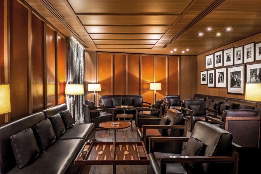 Bvlgari Luxury Hotel London - Knightsbridge, London, UK - Edward Sahakian Cigar Shop and Sampling Lounge