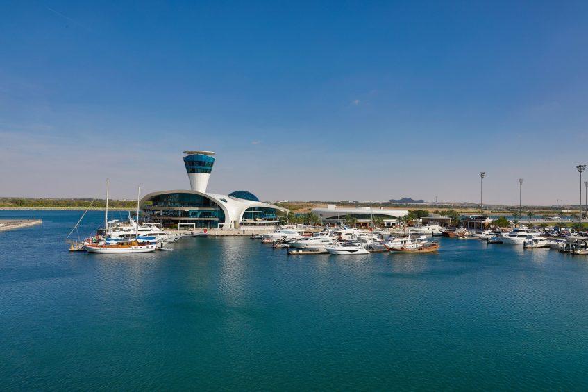 W Abu Dhabi Yas Island Luxury Hotel - Abu Dhabi, UAE - Marina View