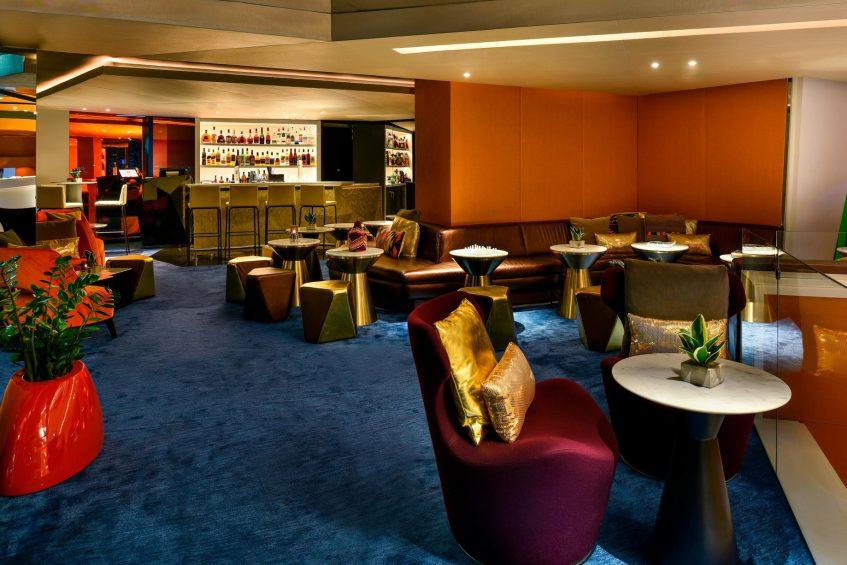 W Amman Luxury Hotel - Amman, Jordan - Lobby Lounge Seating Area