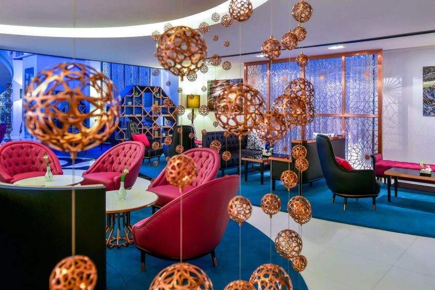 W Doha Luxury Hotel - Doha, Qatar - Lounge