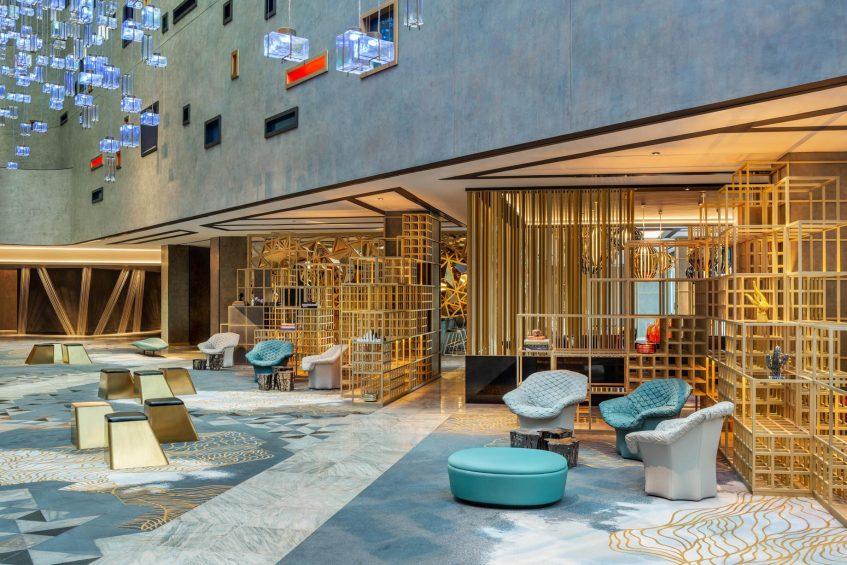 W Dubai The Palm Luxury Resort - Dubai, UAE - Atrium