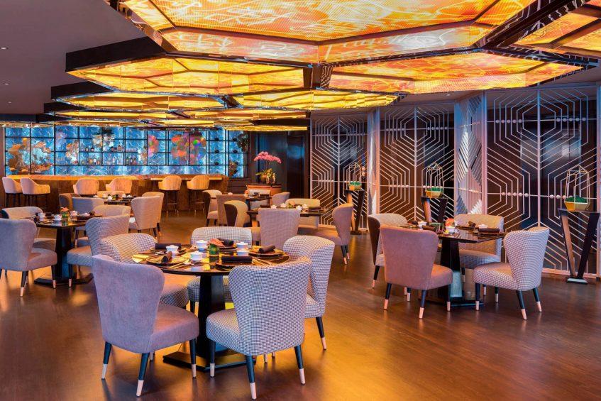 W Kuala Lumpur Luxury Hotel - Kuala Lumpur, Malaysia - YEN Restaurant