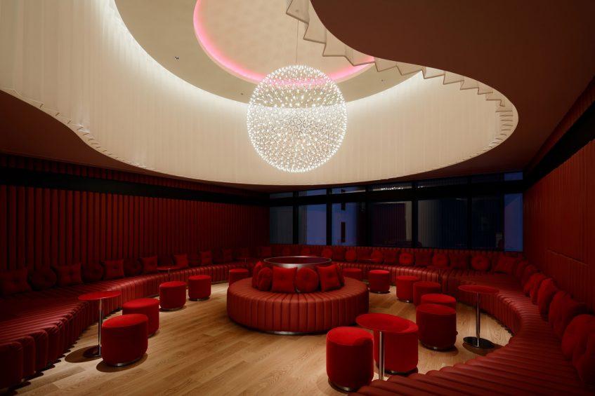 W Osaka Luxury Hotel - Osaka, Japan - LIVING ROOM Red Room