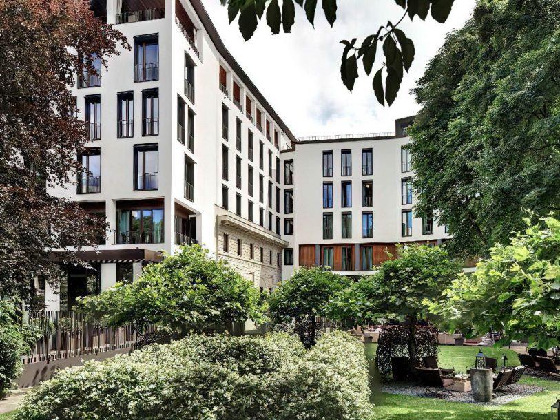 Bvlgari Luxury Hotel Milano - Milan, Italy - The Garden