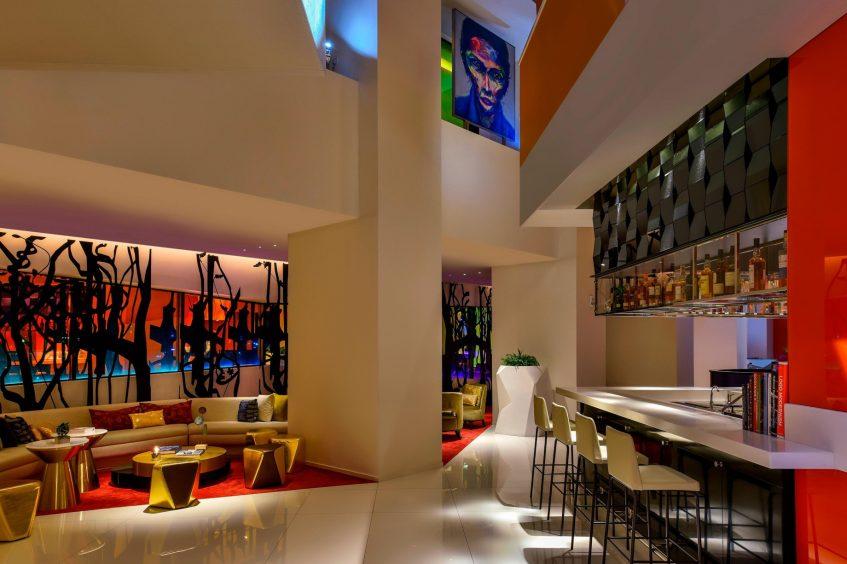 W Amman Luxury Hotel - Amman, Jordan - Lobby Seating Area