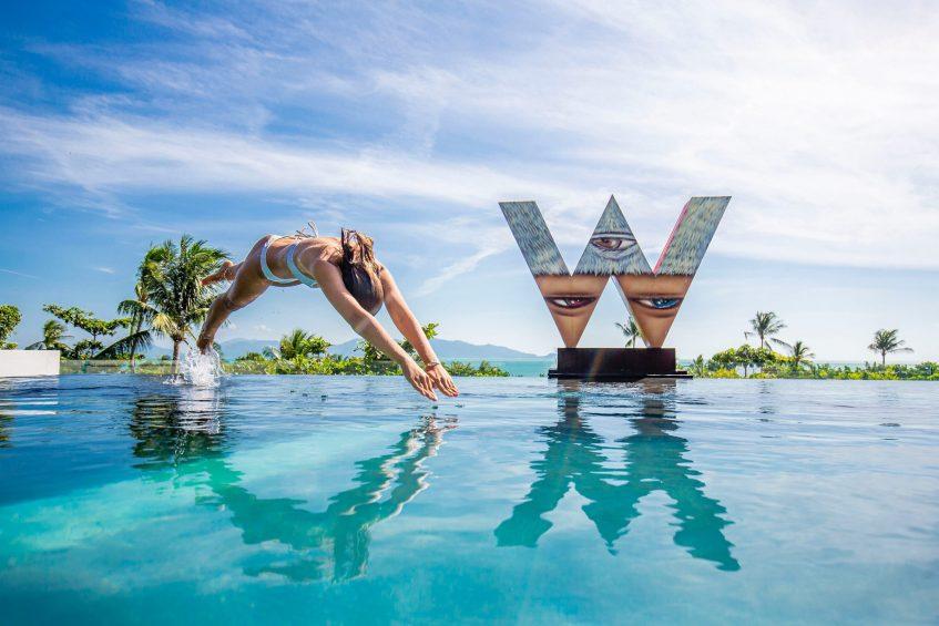 W Koh Samui Luxury Resort - Thailand - WET Pool