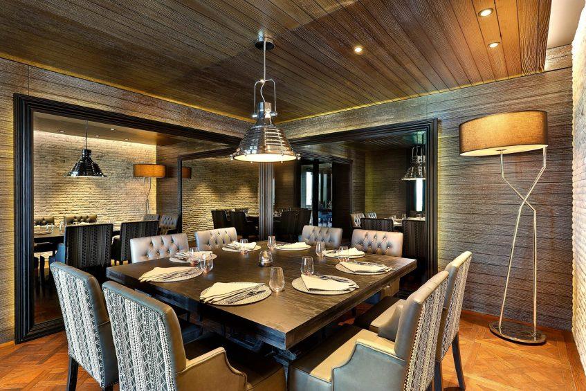 W Muscat Luxury Resort - Muscat, Oman - CHAR Restaurant Table