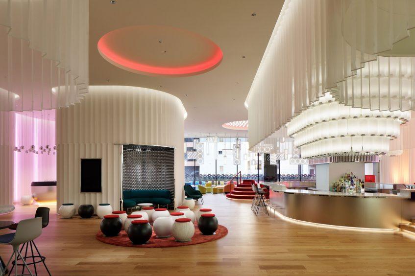 W Osaka Luxury Hotel - Osaka, Japan - LIVING ROOM Lobby Lounge