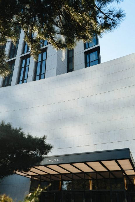 Bvlgari Luxury Hotel Beijing - Beijing, China - Hotel Exterior Entrance Facade