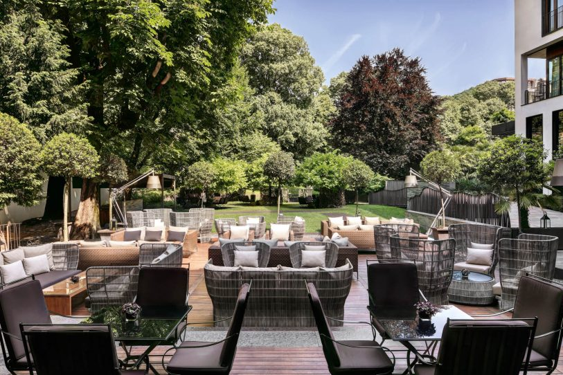 Bvlgari Luxury Hotel Milano - Milan, Italy - Il Giardino Garden Terrace