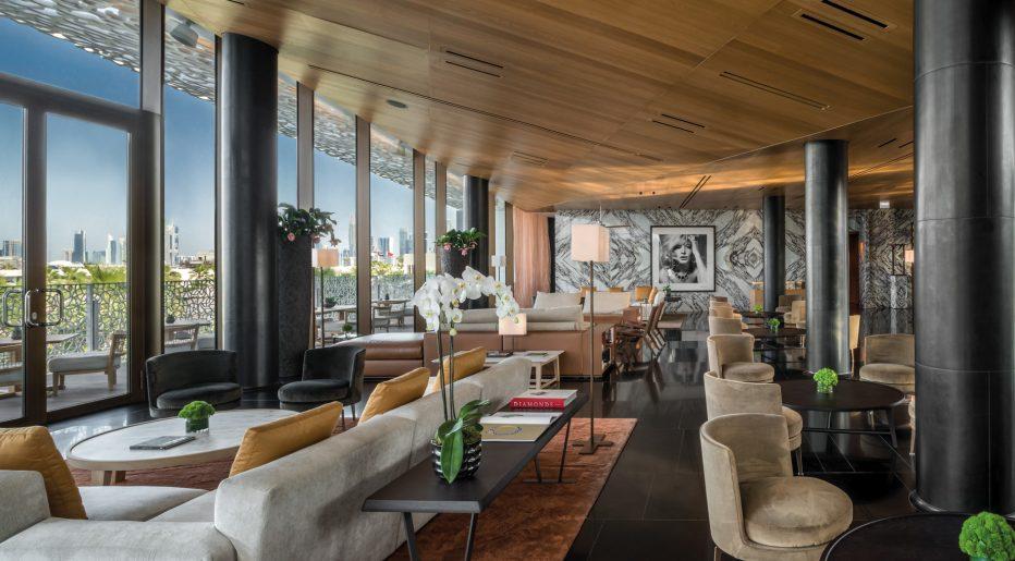 Bvlgari Luxury Resort Dubai - Jumeira Bay Island, Dubai, UAE - Hotel Lobby