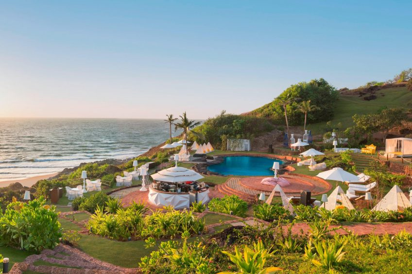 W Goa Vagator Beach Luxury Resort - Goa, India - ROCKPOOL Beachfront