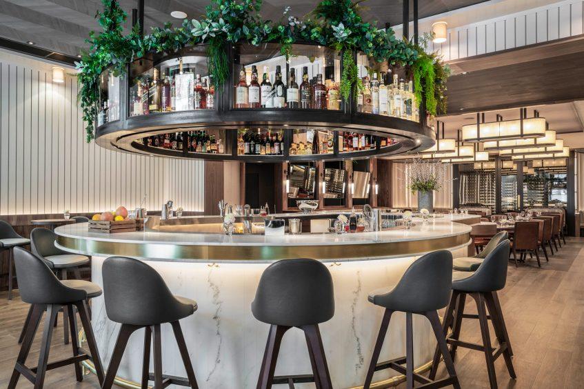 Bvlgari Luxury Hotel London - Knightsbridge, London, UK - Sette Restaurant Bar