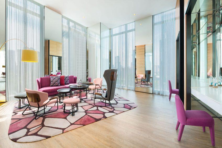 W Kuala Lumpur Luxury Hotel - Kuala Lumpur, Malaysia - Off Stage Lounge